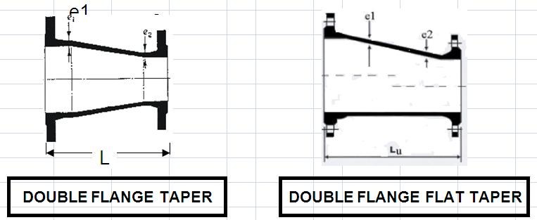 Double Flange taper n Flat Taper